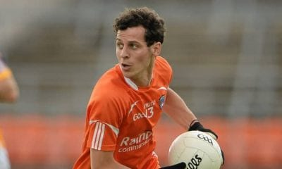 Jamie Clarke in action for Armagh