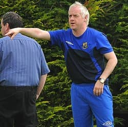 Marty Rice Armagh City FC manager