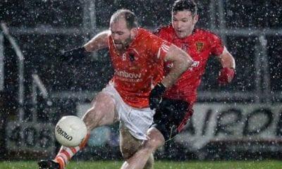 Armagh GAA captain Ciaran McKeever