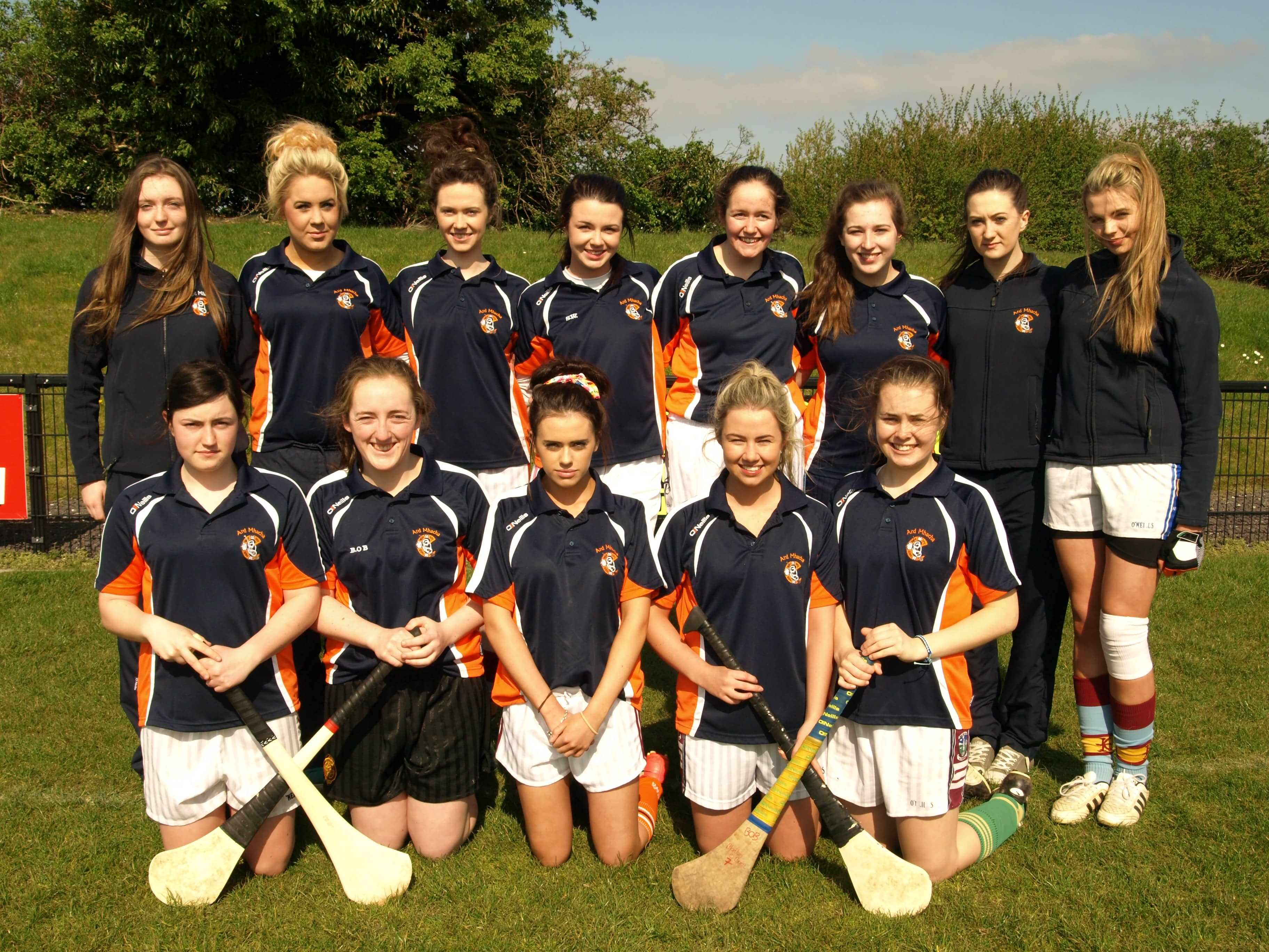 Armagh minor camogie panel