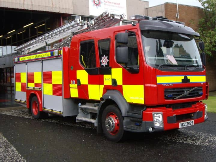 Northway In Portadown Closed Due To Lorry Fire Armagh I