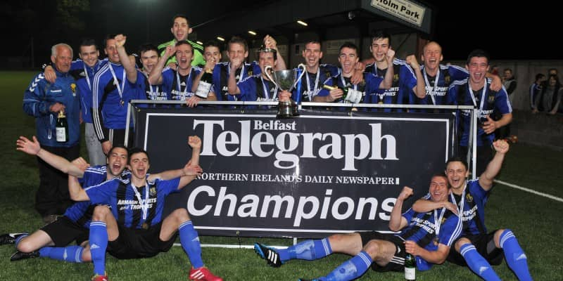 Armagh City champions