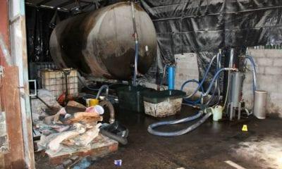 Crossmaglen fuel laundering plant