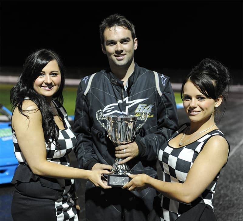 Birches based Adam Hylands was victorious in the 2.0 Hot Rods final at Tullyroan Oval.