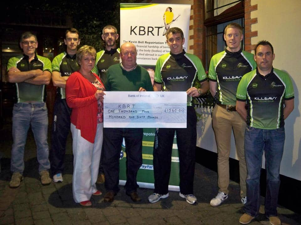 Killeavy Cycling Club Event Raises Fantastic Sum For Kevin Bell