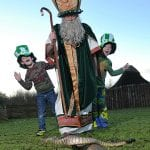 There is something for everyone at Armagh City's largest-ever St Patrick's Day Festival in 2015. Local festival fans John and Alex Stinson (pictured) are looking forward to five full days of music, entertainment and fun for all ages including 'The Storytellin' Man and the Songstress' at Armagh's iconic public library, and the giant interactive storyboard which will allow the expected 20,000 visitors to learn everything there is to know about Ireland's patron saint. Running from Thursday 12th – Tuesday 17th March, see the full programme schedule at www.armagh.co.uk/saintpatrick.