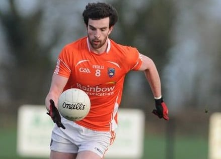 Armagh player Aaron Findon