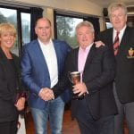 Anton Finn awarded the Nesbitt Cup at club awards event