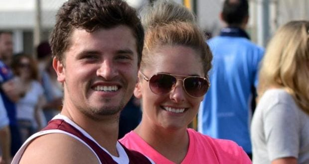 Eamonn Morgan from Newry and girlfriend Charlotte Sant who died in qatar