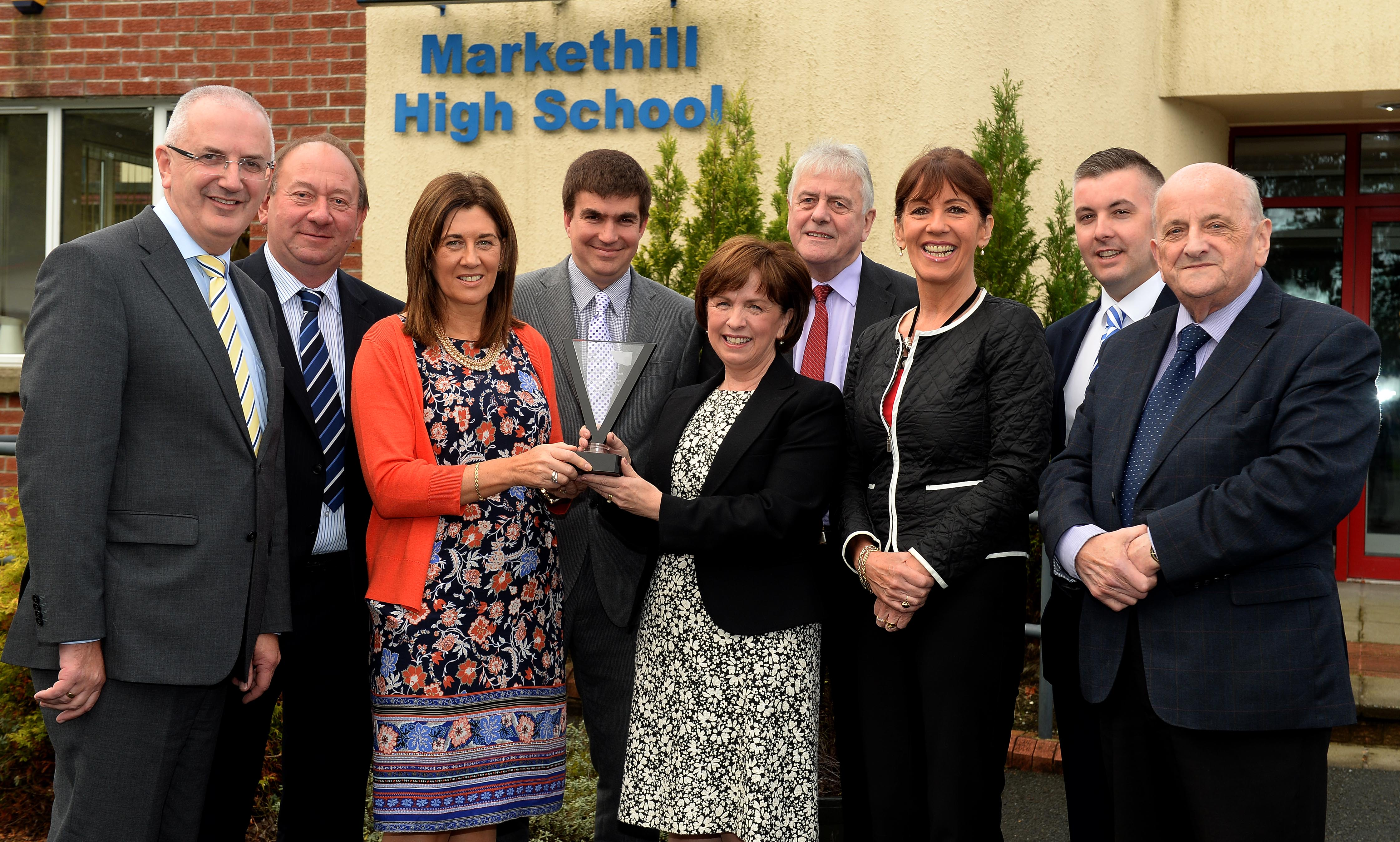 Markethill High School Wins International School Award