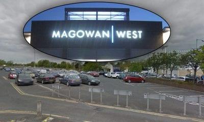 Magowan car park, Portadown