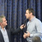 Tommy Bowe interviewed by Adrian Logan