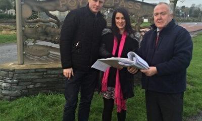 Justin McNulty, Sharon Haughey and Seamus Doyle