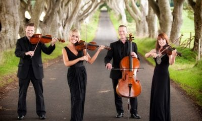 Arco String Quartet will perform as part of the Armagh, Newry and Downpatrick St Patrick's Festival 2016