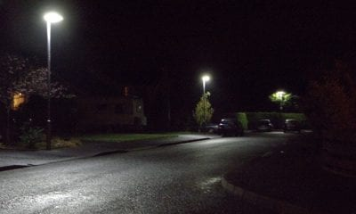 Street lighting in Portadown