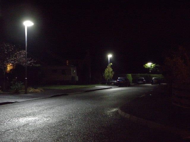 Street lighting in Portadown