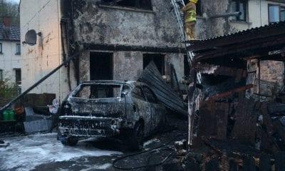 Arson attack at Richhill home