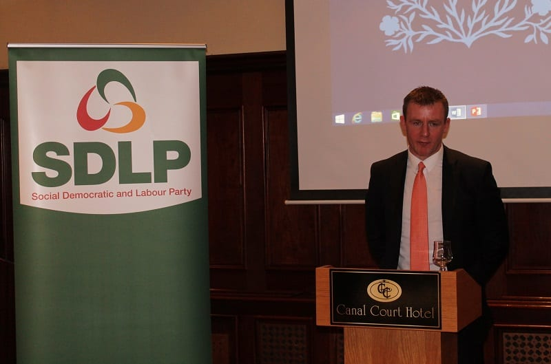 SDLP Assembly candidate Justin McNulty