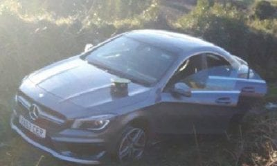 Stolen Mercedes