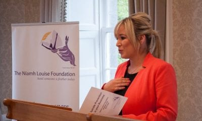 Health Minister Michelle O'Neill at a Niamh Louise event in Armagh