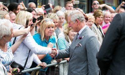 Charles and Camilla visit Yellow Door in Portadown