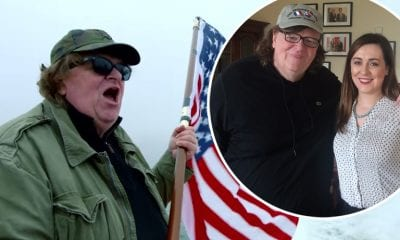 Michael Moore and Megan Fearon