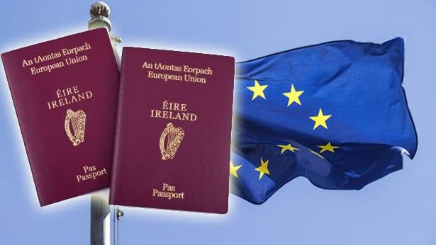 Irish passports