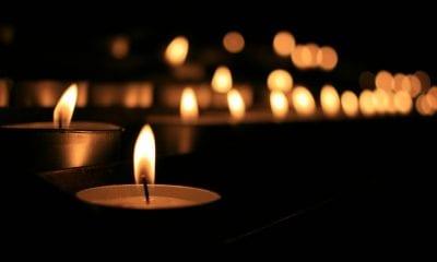 candle death notice