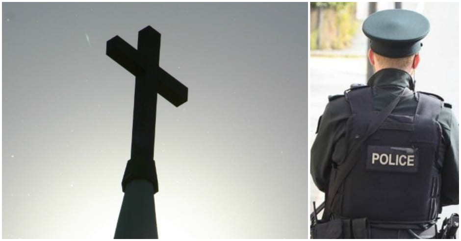 Church grounds vanalised at St Anthony's in Craigavon