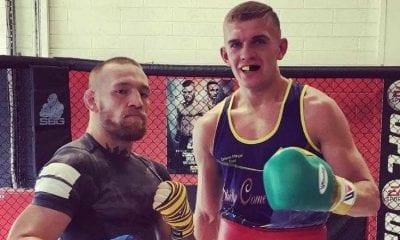Conor McGregor and Conor Wallace
