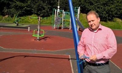 Gareth Wilson at Tandragee Play Park