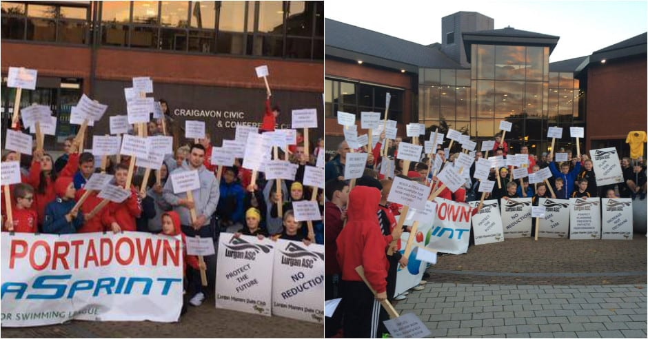 Protest Group Have Their Voice Heard Over New Craigavon