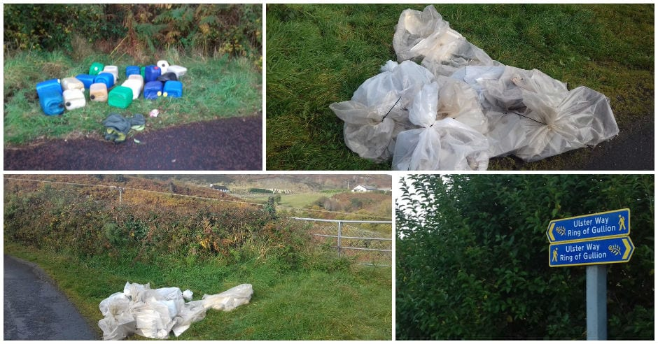 Ring of Gullion dumping, South Armagh