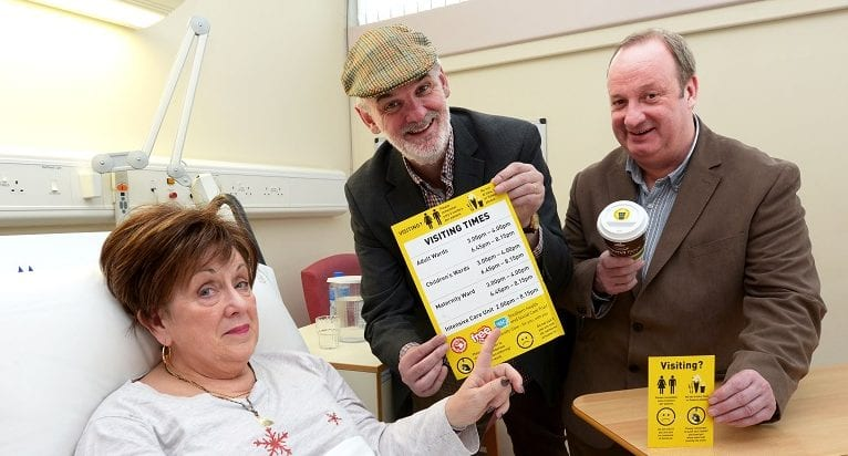 Ma, Da and Cal help raise public awareness of Southern Trust visiting rules