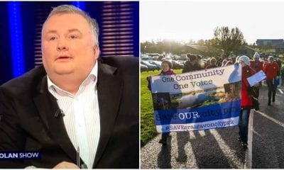 Craigavon City Park protest