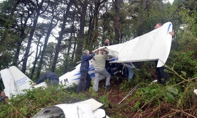 Plane crash in Castlewellan