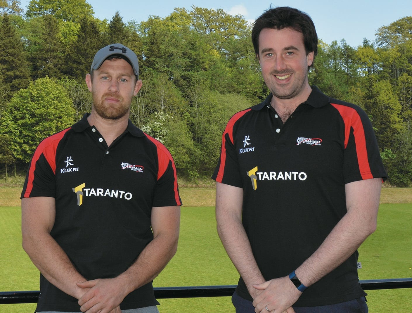 City of Armagh Coaches Willie Faloon & Chris Parker