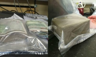 Drugs and money seized by police