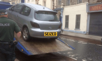 PSNI seize car in Armagh