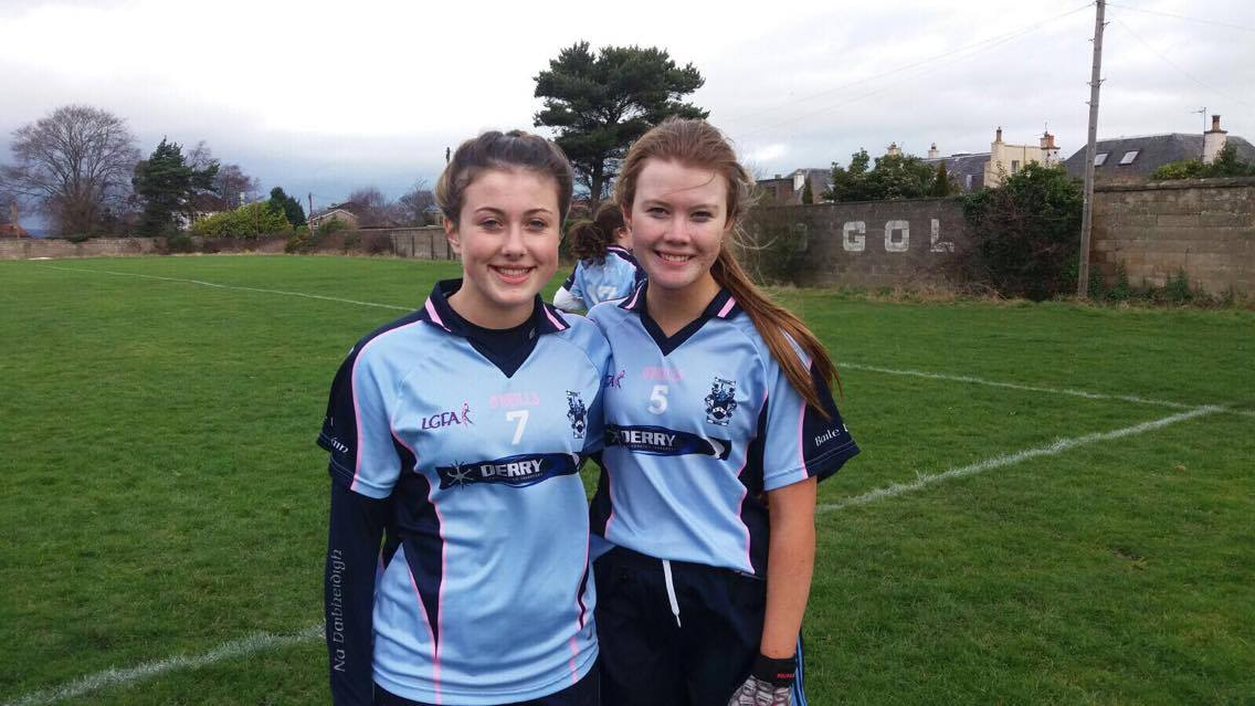 Sarah Louise Doherty (right) and Lauren O'Gorman