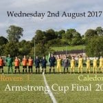 Armstrong Cup Final 2017 Caledon Rovers Tandragee Rovers
