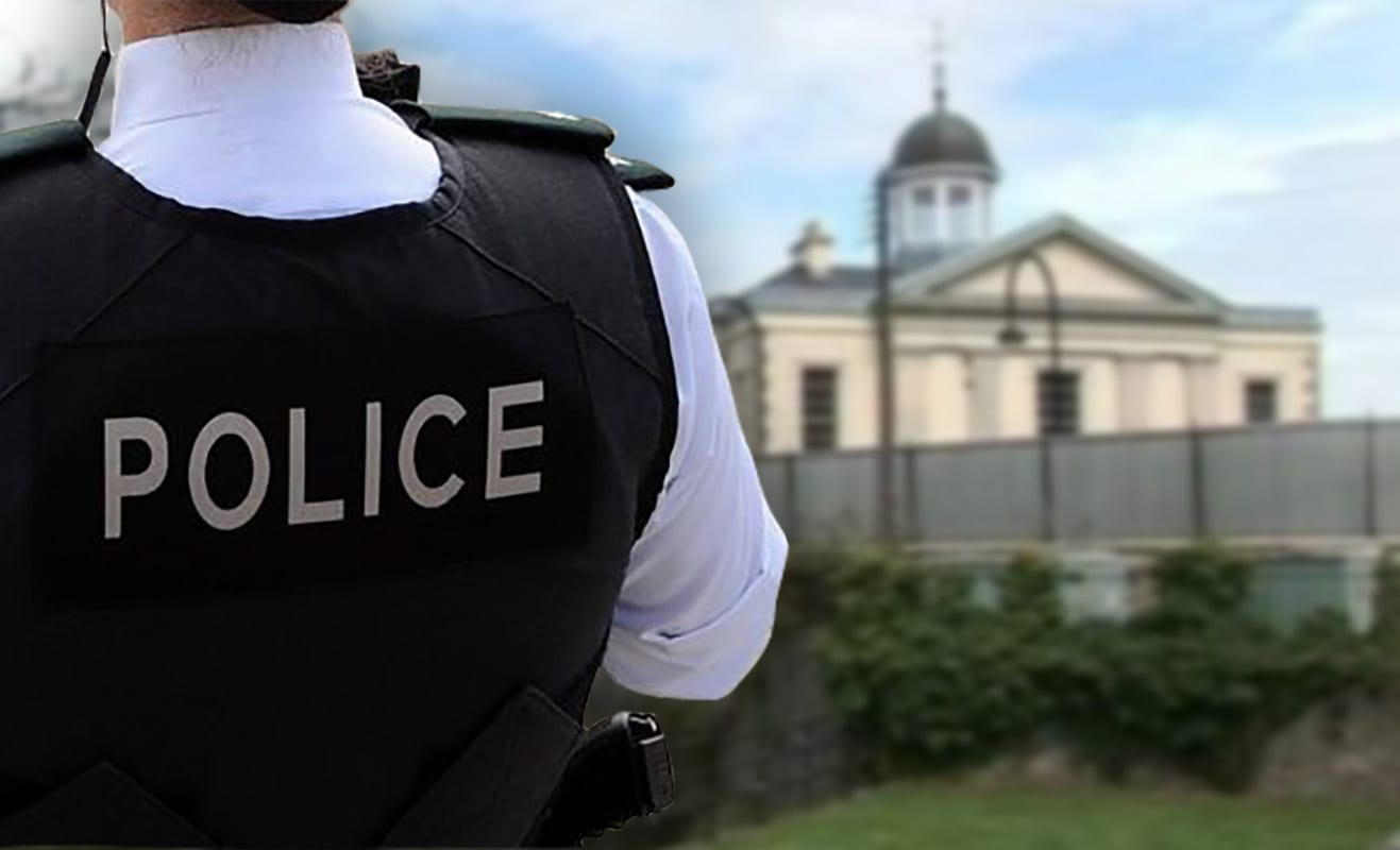 Newry courthouse police
