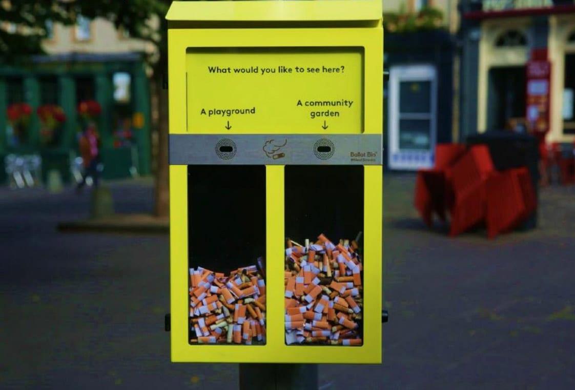 Council ballot bins