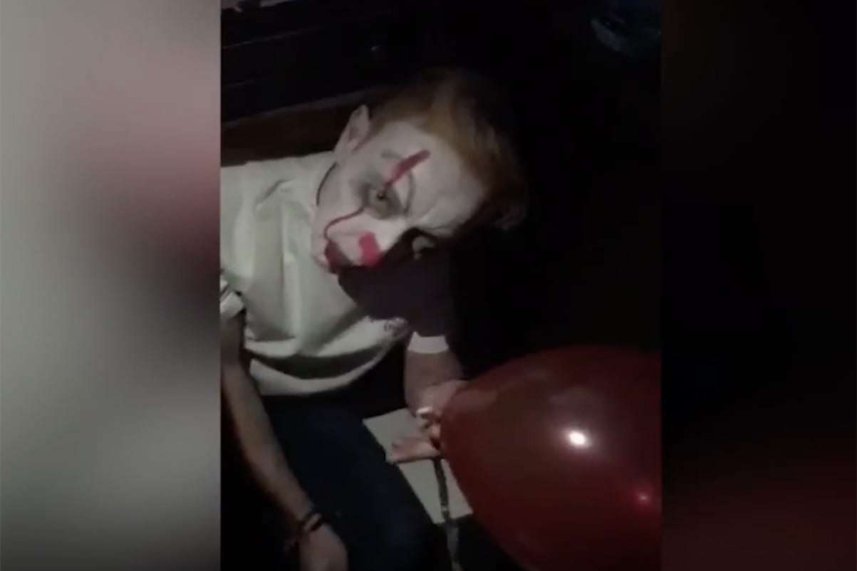 Mark McSherry clown costume