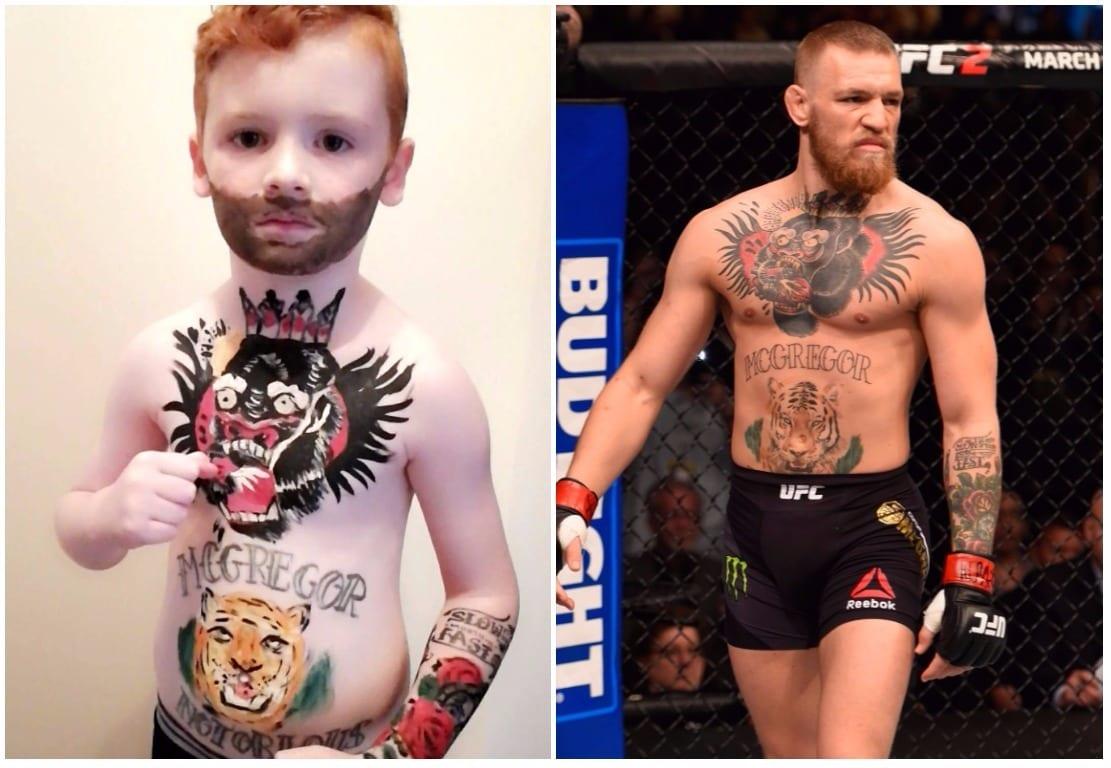 Mini Conor McGregor