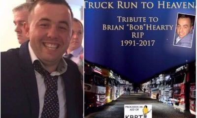 Brian Hearty Truck Run