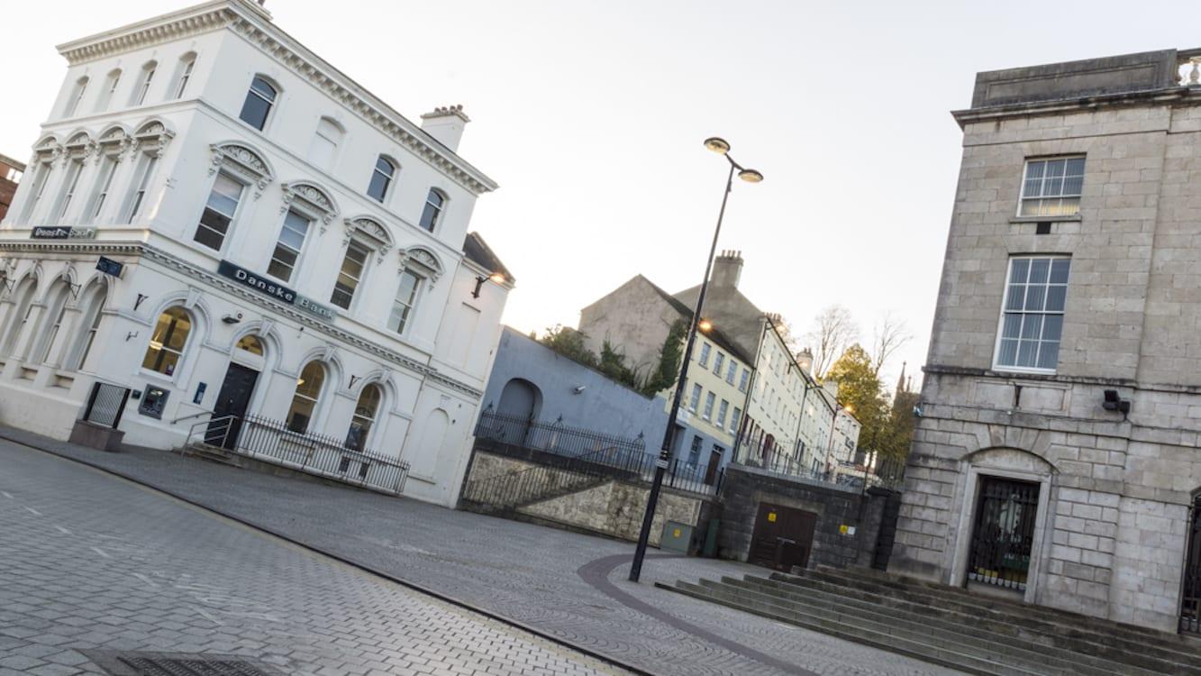 Armagh city centre Market Street