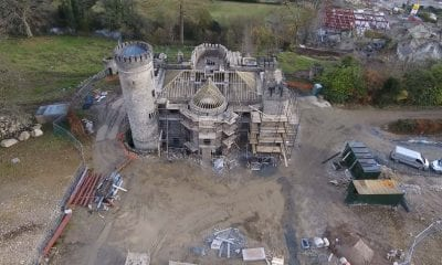 Killeavy Castle construction work