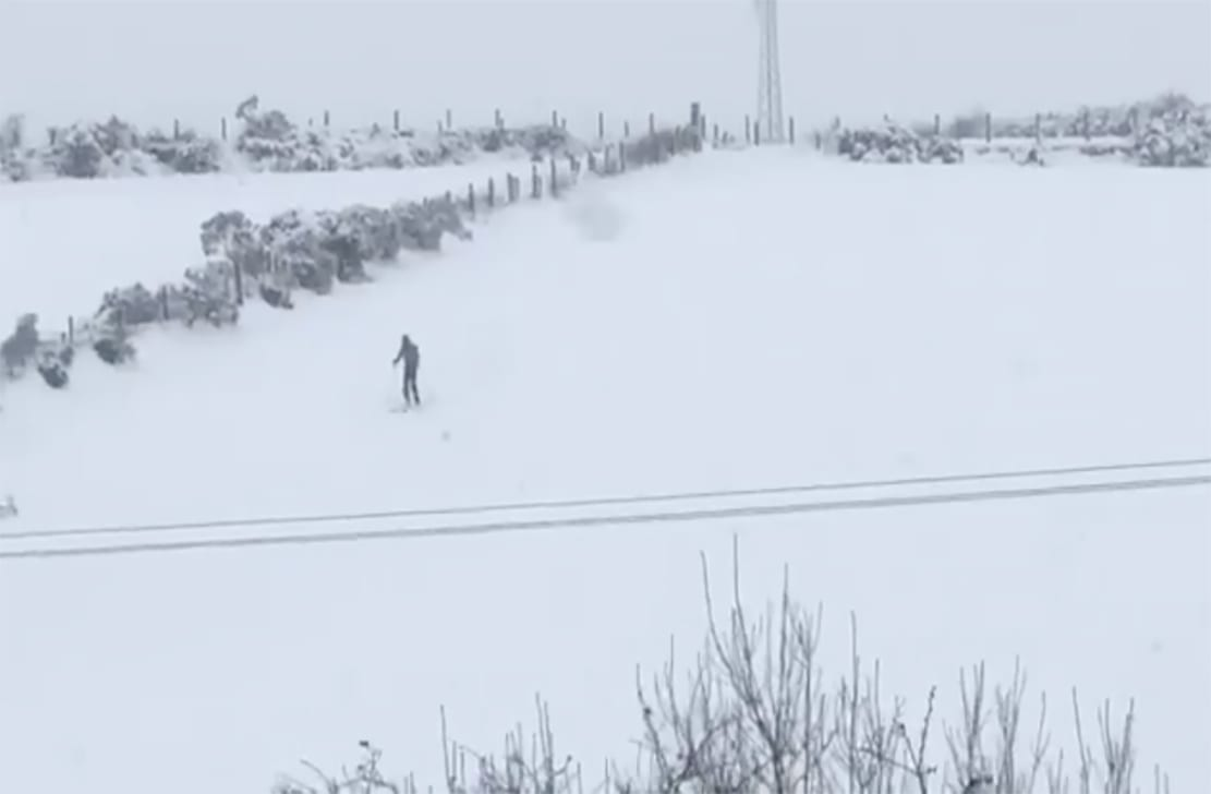 Co Armagh man skiing
