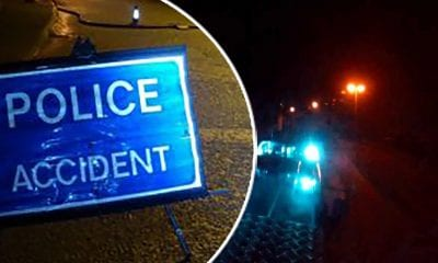 Police accident night